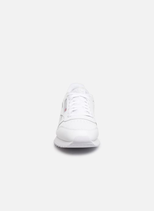 Baskets Reebok Classic Leather Ripple Mu Blanc vue portées chaussures