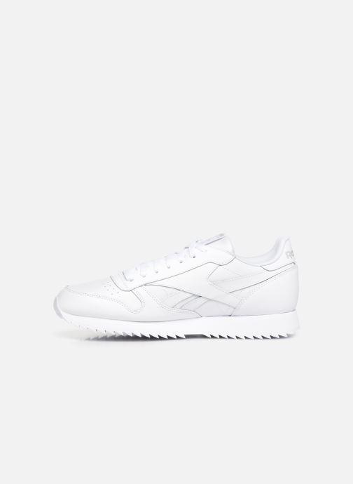 Sneaker Reebok Classic Leather Ripple Mu weiß ansicht von vorne