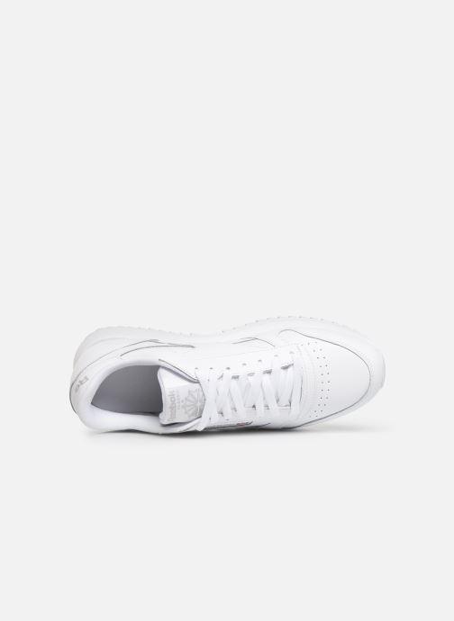 Sneaker Reebok Classic Leather Ripple Mu weiß ansicht von links