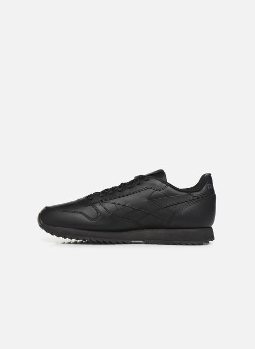 Sneaker Reebok Classic Leather Ripple Mu schwarz ansicht von vorne