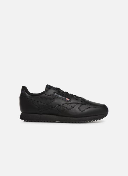 Sneaker Reebok Classic Leather Ripple Mu schwarz ansicht von hinten