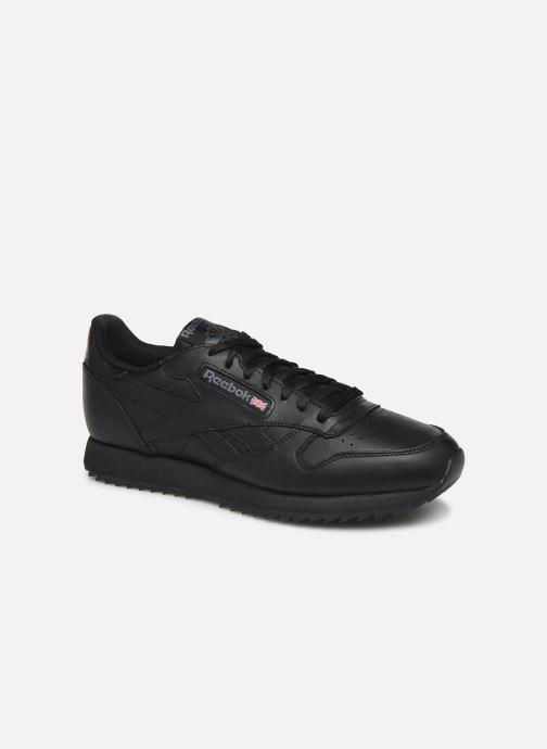Sneaker Reebok Classic Leather Ripple Mu schwarz detaillierte ansicht/modell