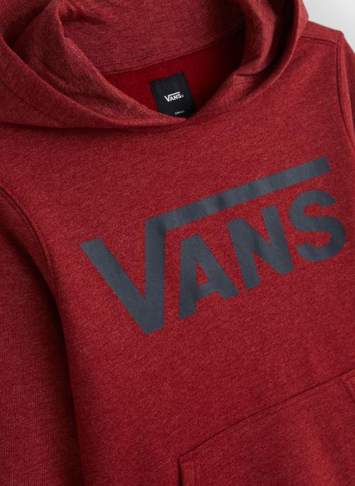 Vêtements Vans Classic Po Ii Boys Biking Rouge vue portées chaussures