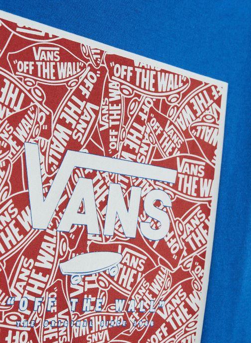 Vêtements Vans Print Box Boys Bleu vue portées chaussures