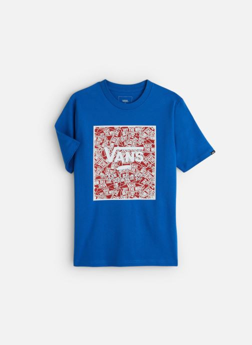 Vêtements Vans Print Box Boys Bleu vue détail/paire