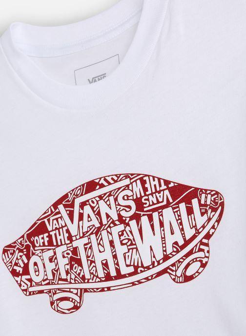 Vêtements Vans Otw Logo Fill Boys Blanc vue portées chaussures