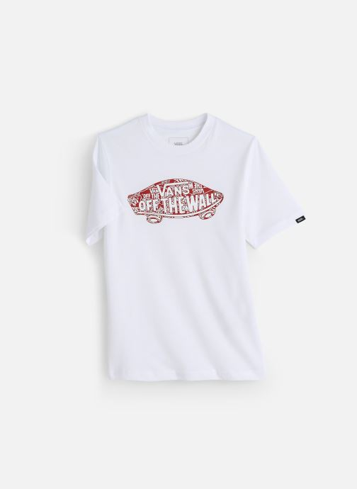 Vêtements Vans Otw Logo Fill Boys Blanc vue détail/paire