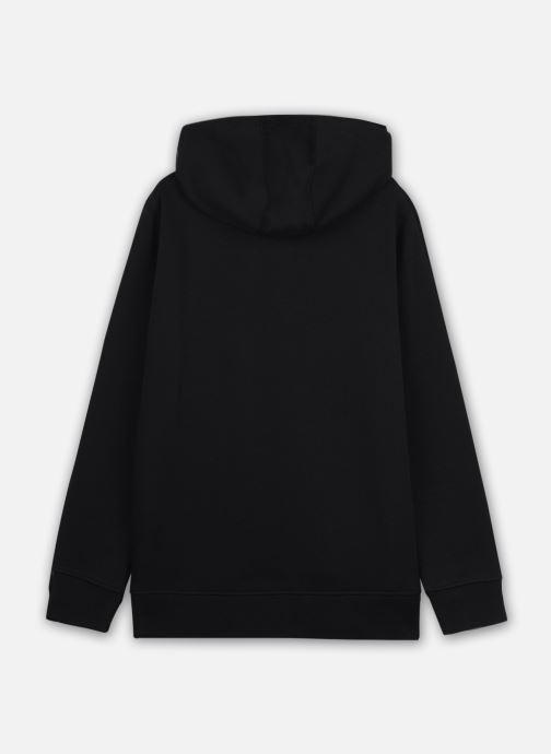 Vêtements Vans Otw Pullover Fleece Boys Noir vue portées chaussures