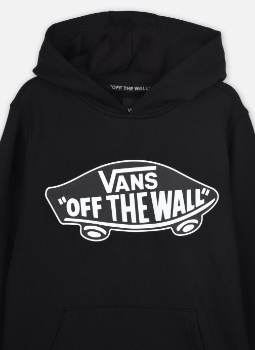 Vêtements Vans Otw Pullover Fleece Boys Noir vue face
