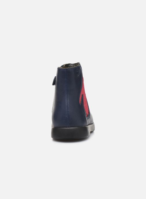 Bottines et boots Camper Duet K900183 Bleu vue droite