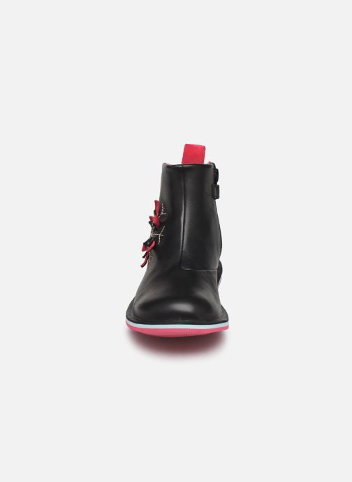 Ankle boots Camper Twins K900177 Black model view