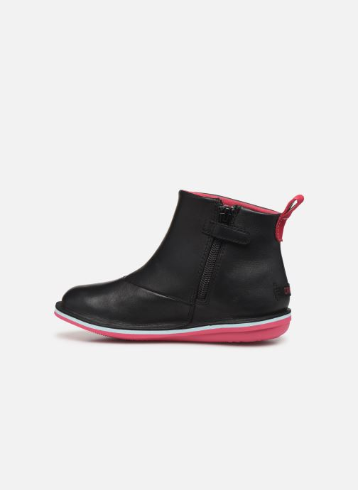 Ankle boots Camper Twins K900177 Black front view