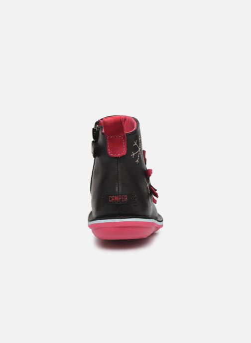 Boots en enkellaarsjes Camper Twins K900177 Zwart rechts
