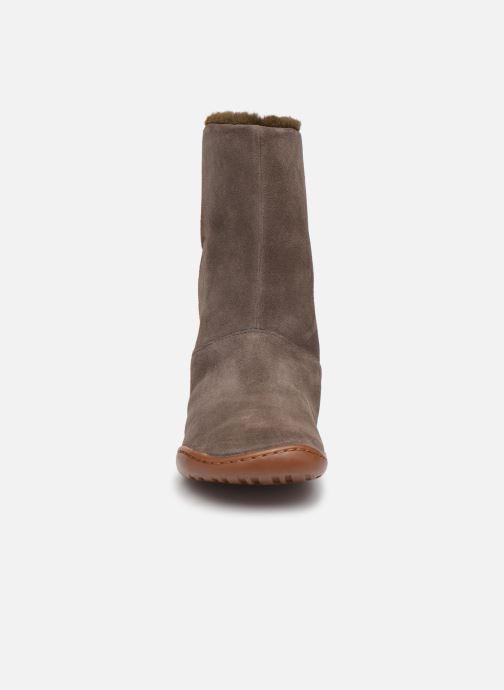 Stiefel Camper Peu Cami K900192 braun schuhe getragen