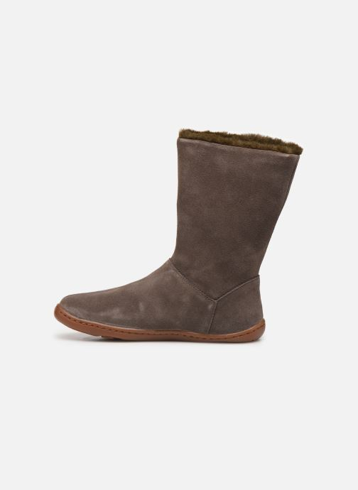Boots & wellies Camper Peu Cami K900192 Brown front view