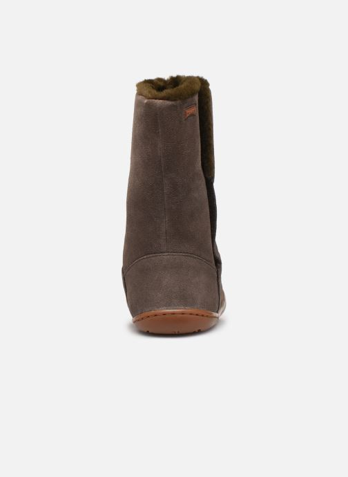 Boots & wellies Camper Peu Cami K900192 Brown view from the right