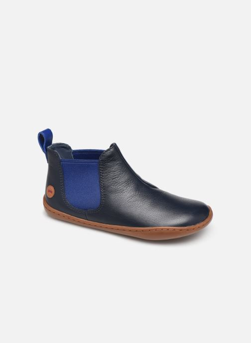 Ankle boots Camper Peu Cami K900191 Blue detailed view/ Pair view