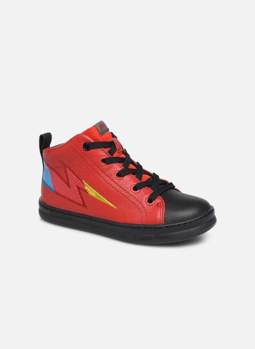 Baskets Camper Run K900200 Rouge vue détail/paire