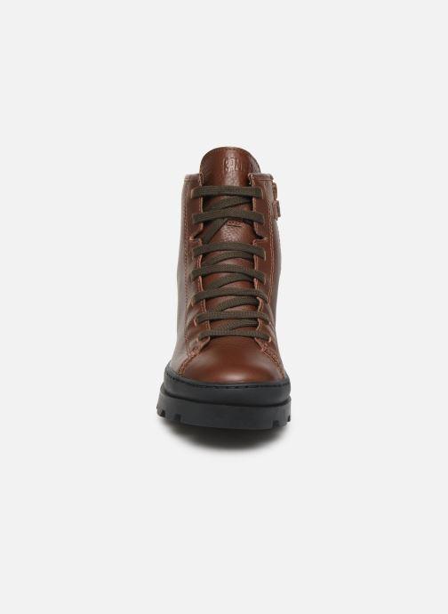 Bottines et boots Camper Brutus K900179 Marron vue portées chaussures