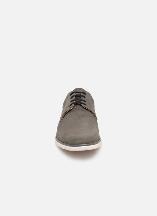 Veterschoenen Schmoove Shaft Derby Nubuck Grijs model