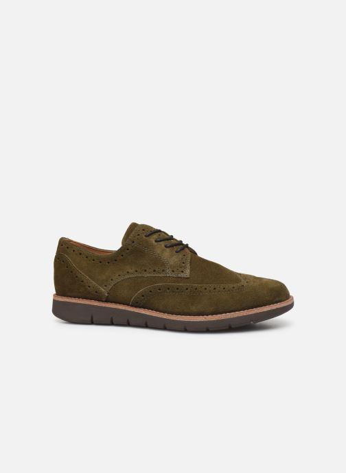 Chaussures à lacets Schmoove Echo Brogue Suede Vert vue derrière