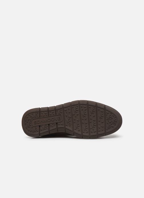 Chaussures à lacets Schmoove Echo Brogue Suede Vert vue haut
