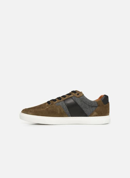 Trainers Schmoove Cup Tennis Suede Green front view