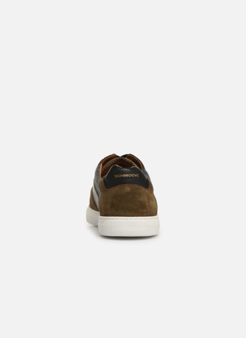 Trainers Schmoove Cup Tennis Suede Green view from the right