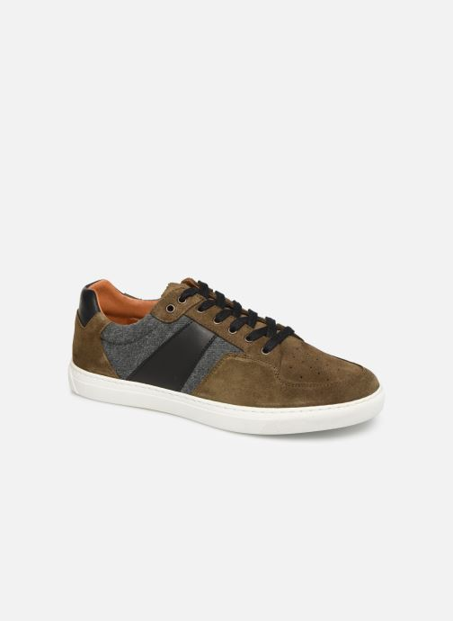 Trainers Schmoove Cup Tennis Suede Green detailed view/ Pair view
