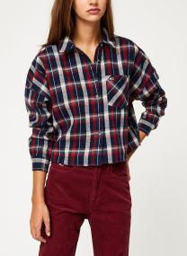 Chemise - TJW CROPPED FLANNEL SHIRT