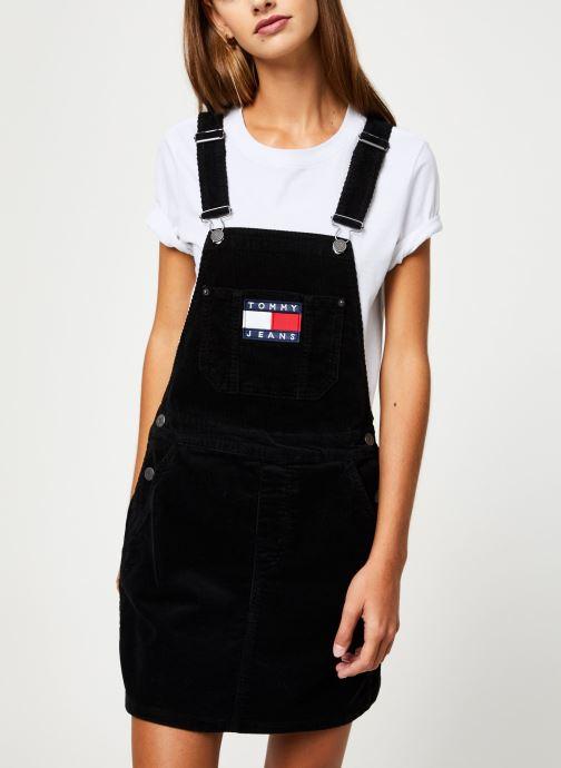 Vêtements Tommy Jeans TJW DUNGAREE DRESS Noir vue détail/paire