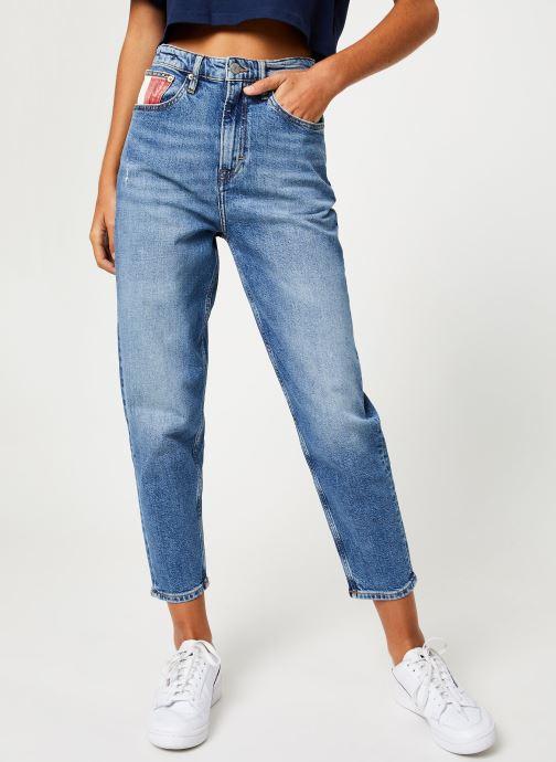 Vêtements Tommy Jeans TJW HIGH RISE TAPERED TJ 2004 Bleu vue détail/paire