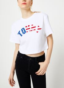 T-shirt - TJW TOMMY US FLAG TEE
