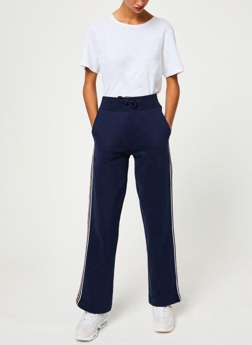Vêtements Tommy Jeans TJW TAPING DETAIL JOG PANT Bleu vue bas / vue portée sac