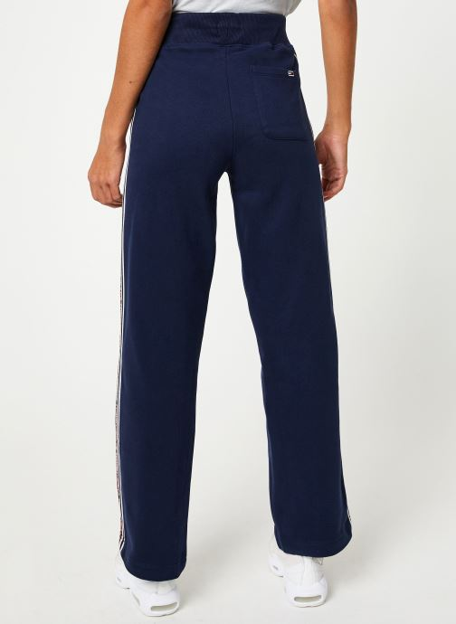 Vêtements Tommy Jeans TJW TAPING DETAIL JOG PANT Bleu vue portées chaussures