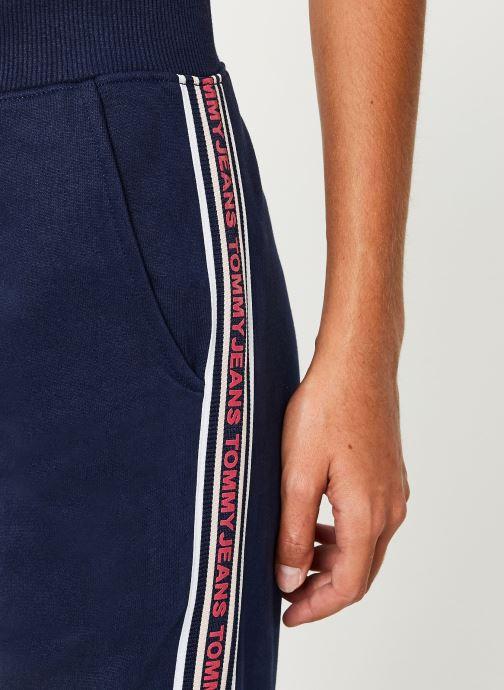 Vêtements Tommy Jeans TJW TAPING DETAIL JOG PANT Bleu vue face