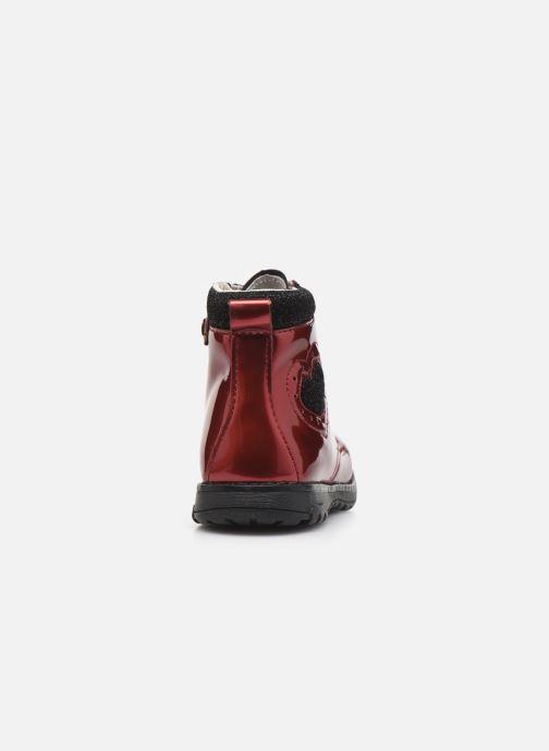 Bottines et boots Primigi PCA 44104 Rouge vue droite