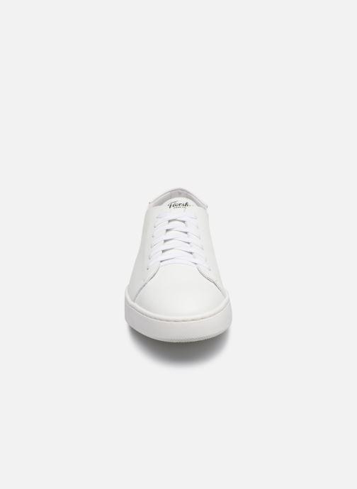 Baskets Florsheim RANDOM Blanc vue portées chaussures