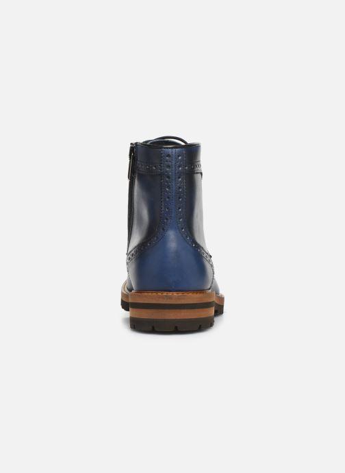 Bottines et boots Florsheim RICHARDS HAUTE Bleu vue droite