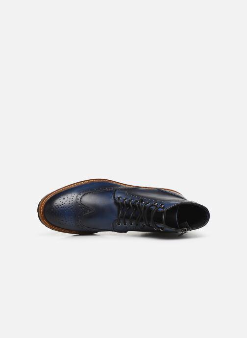 Bottines et boots Florsheim RICHARDS HAUTE Bleu vue gauche