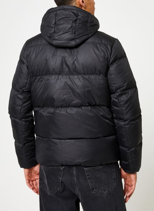 Kleding Tommy Jeans TJM ESSENTIAL DOWN JACKET Zwart model