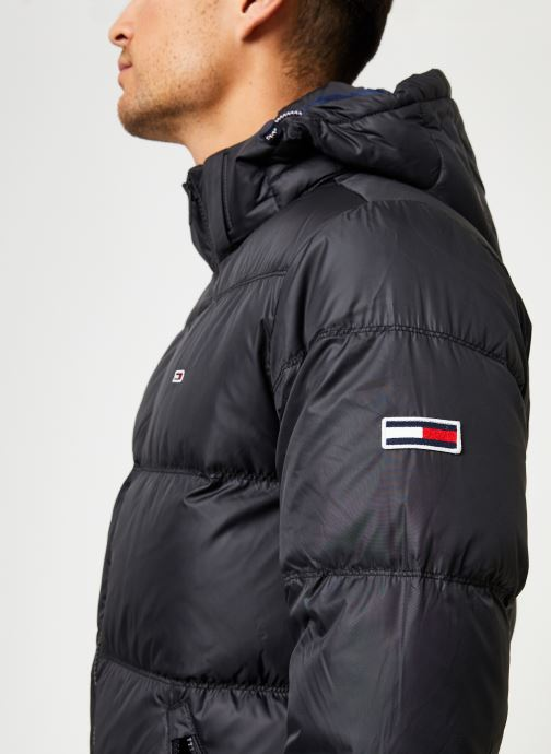 Vêtements Tommy Jeans TJM ESSENTIAL DOWN JACKET Noir vue face