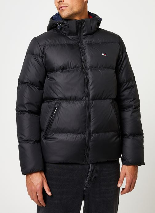 Kleding Tommy Jeans TJM ESSENTIAL DOWN JACKET Zwart detail