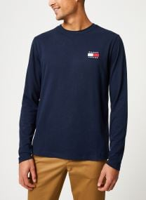 TJM TOMMY BADGE LONGSLEEVE TEE