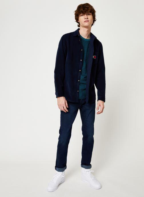 Kleding Tommy Jeans TJM CORD SHIRT Zwart onder