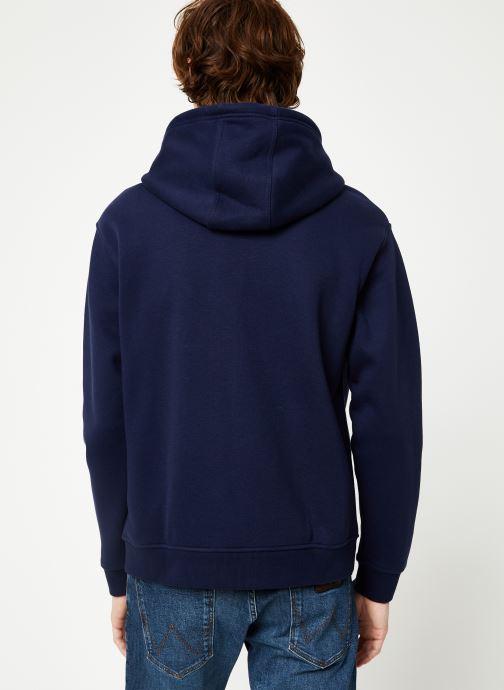 Kleding Tommy Jeans TJM TOMMY CLASSICS ZIPTHROUGH Blauw model