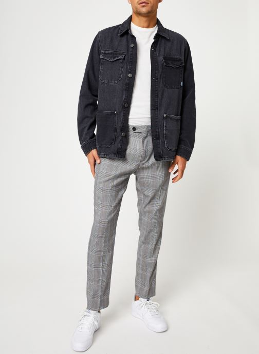 Vêtements Tommy Jeans TJM CARGO JACKET CRMXK Noir vue bas / vue portée sac