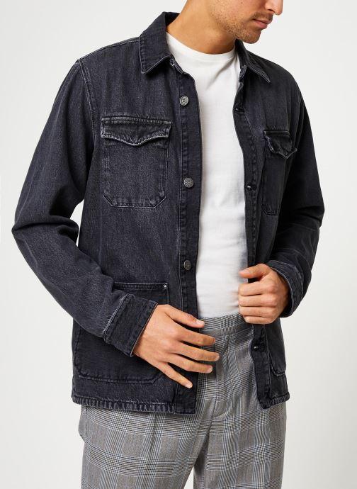 Vêtements Tommy Jeans TJM CARGO JACKET CRMXK Noir vue droite