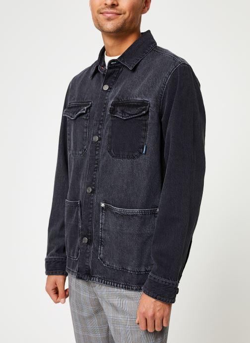 Vêtements Tommy Jeans TJM CARGO JACKET CRMXK Noir vue détail/paire