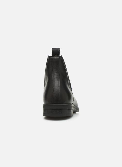 Bottines et boots Marvin&Co Nels Noir vue droite